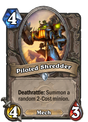 Piloted Shredder Card Image