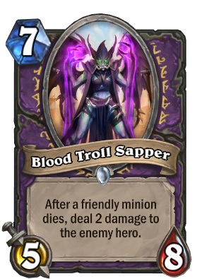 Blood Troll Sapper Card Image