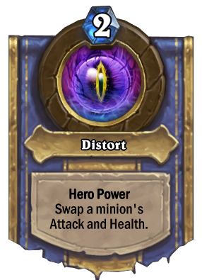 Distort Card Image