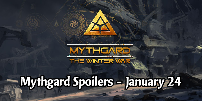 Daily Card Spoilers for Mythgard's The Winter War Set - January 24