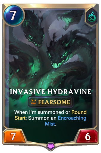 Invasive Hydravine Card Image