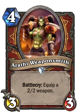 Arathi Weaponsmith Card Image