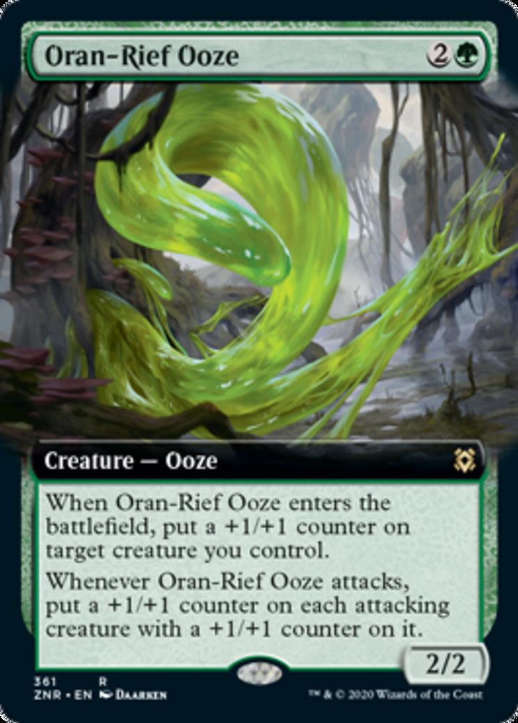 Oran-Rief Ooze Card Image