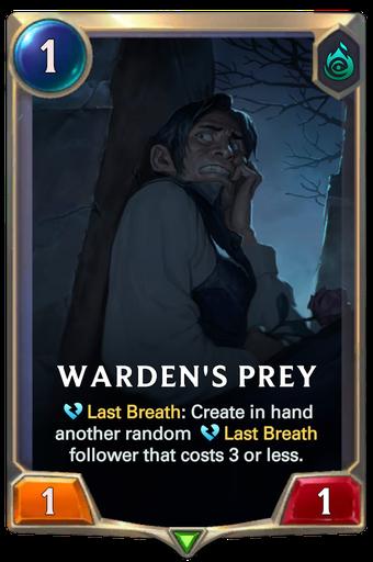 Warden's Prey Card Image