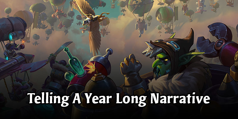 Hearthstone - Telling a Year Long Narrative Recap