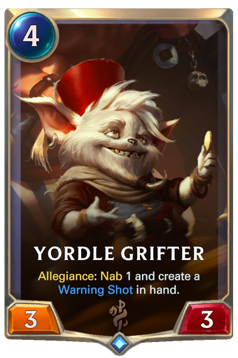 Yordle Grifter Card Image