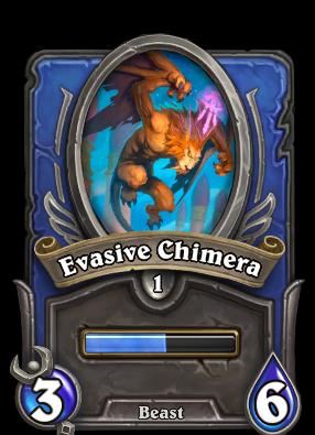 Evasive Chimera Card Image