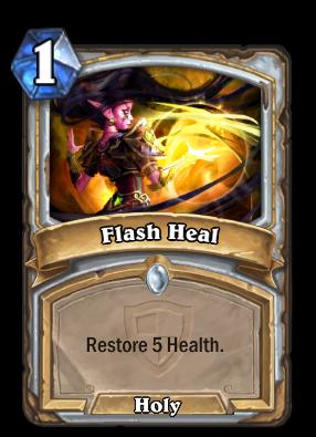 Flash Heal Card Image