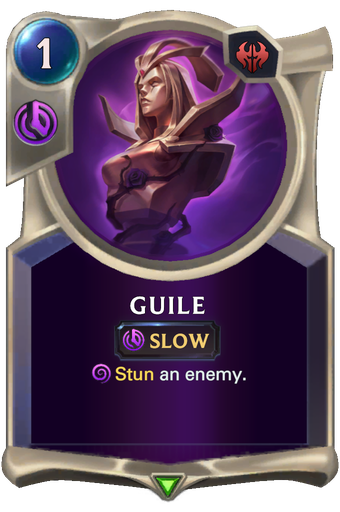 Guile Card Image