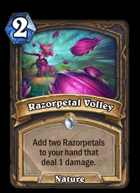 Razorpetal Volley Card Image