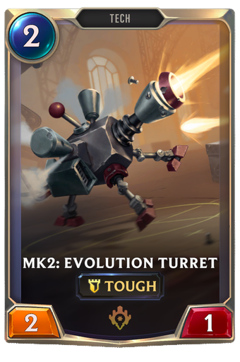 Mk2: Evolution Turret Card Image