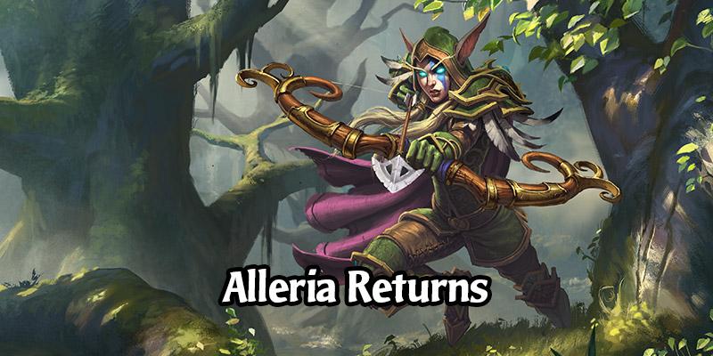 Alleria's Hero Skin Returns to Hearthstone Availability via Battle.net, Cheaper Than Before