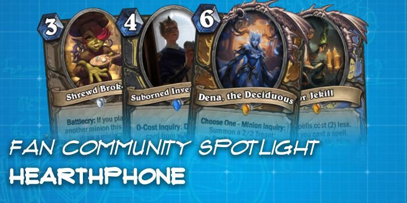 "Hearthphone, a Custom Expansion Created Through a ""Telephone"" Game - Hearthstone Fan Community Spotlight"