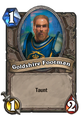 Goldshire Footman Card Image