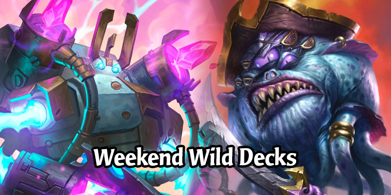 Weekend Wild Hearthstone Decks Using Some of The New Darkmoon Faire Cards