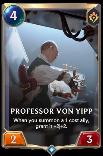 Professor von Yipp Card Image