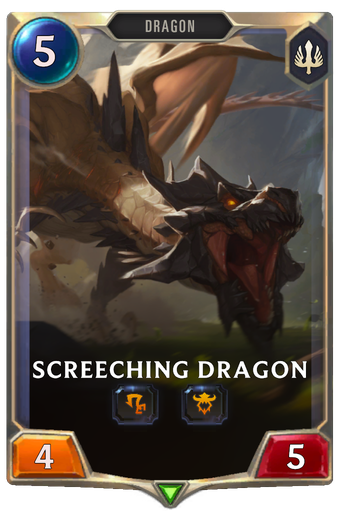 Screeching Dragon Card Image