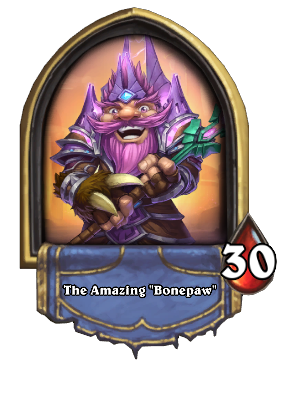 "The Amazing ""Bonepaw"" Card Image"