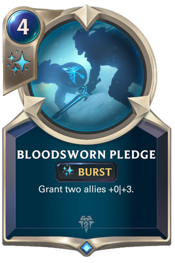 Bloodsworn Pledge Card Image
