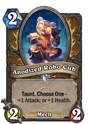 Anodized Robo Cub Card Image