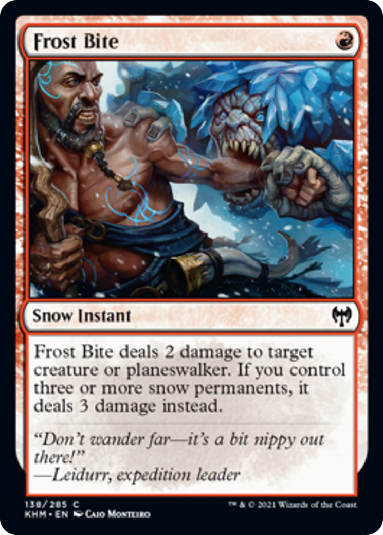 Frost Bite Card Image