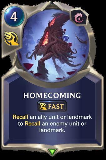 Homecoming Card Image