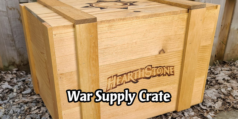I'm Forging into the Barrens! The Horde Has Sent a War Supply Crate to My Location (Thanks Blizzard)
