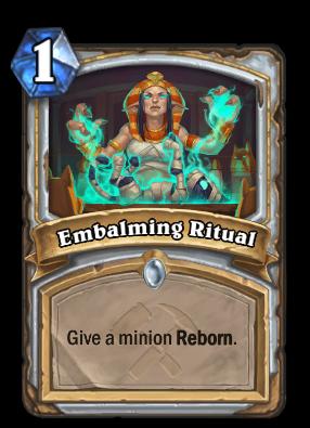 Embalming Ritual Card Image