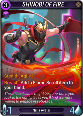Shinobi of Fire Card Image