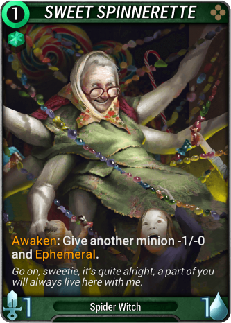 Sweet Spinnerette Card Image