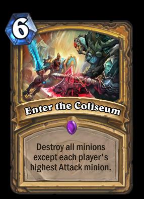 Enter the Coliseum Card Image