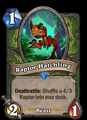 Raptor Hatchling Card Image