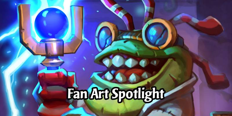 Hearthstone Fan Art Spotlight - Dr. Murkstein's Creations by Joao Vagner