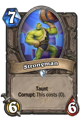 Strongman Card Image