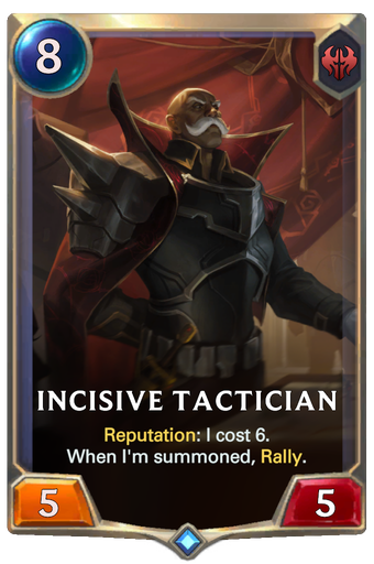 Incisive Tactician Card Image