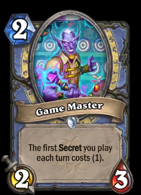 Game Master Card Image