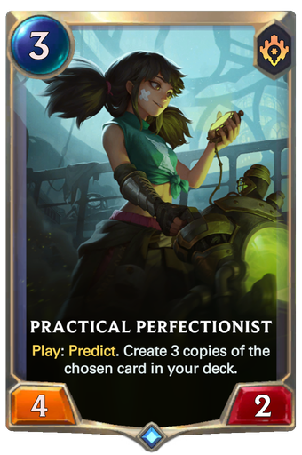 Practical Perfectionist Card Image
