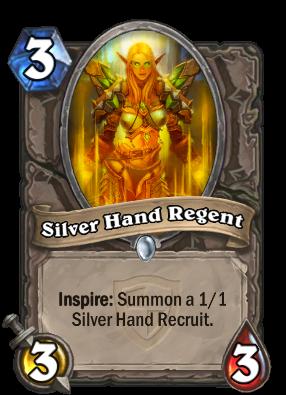 Silver Hand Regent Card Image