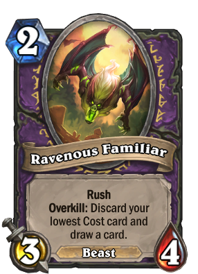 Ravenous Familiar Card Image
