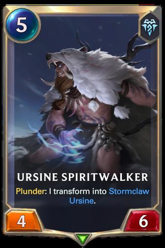 Ursine Spiritwalker Card Image