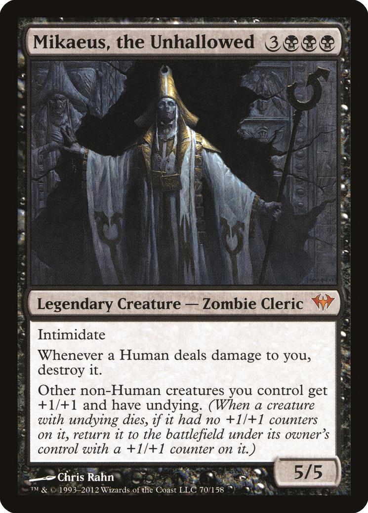 Mikaeus, the Unhallowed Card Image