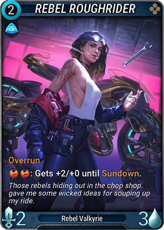Rebel Roughrider Card Image
