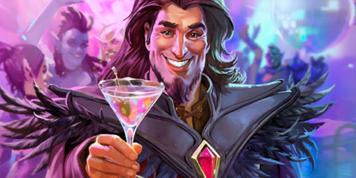 Gala Medivh is Coming to Party in Hearthstone Battlegrounds as a Bartender Replacement Skin