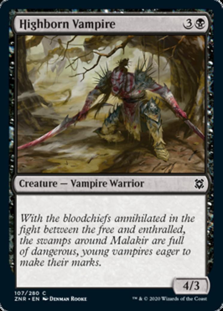 Highborn Vampire Card Image