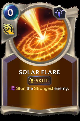 Solar Flare Card Image