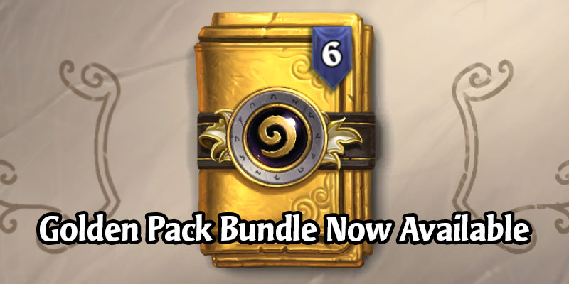 The Golden Classic Bundle is Now Available - 6 Golden Classic Packs for $15