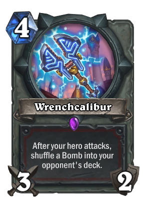 Wrenchcalibur Card Image