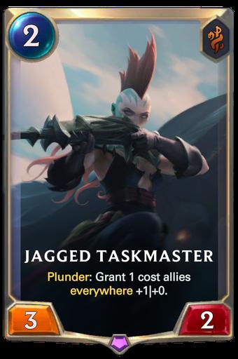 Jagged Taskmaster Card Image