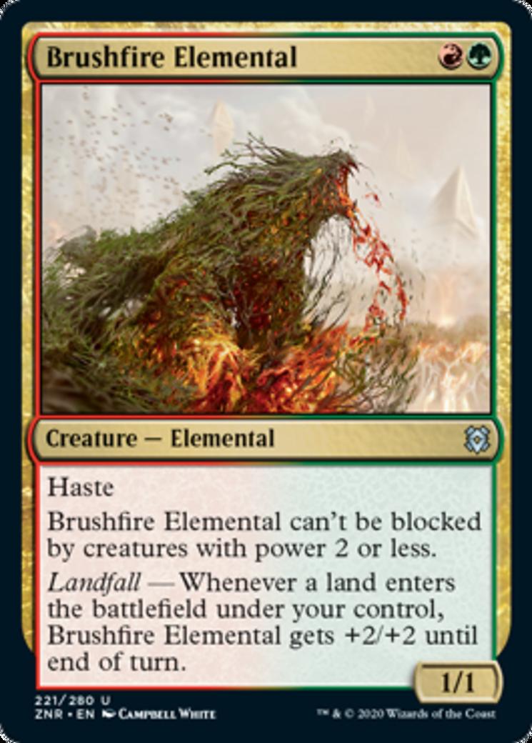 Brushfire Elemental Card Image