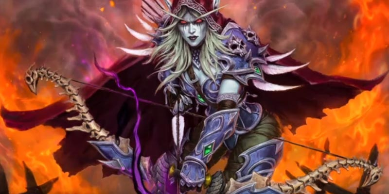 Sylvanas Windrunner is Coming Back to Hearthstone as a Hunter Hero